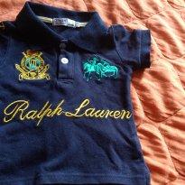 Camisa pólo Ralph Lauren réplica - 9 a 12 meses - Ralph Lauren