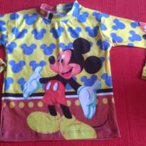Camiseta infantil com proteção UV - 2 anos - Não informada