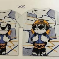 Camiseta Tigor original - 2 anos - Tigor T.  Tigre
