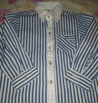 Camisa social com listras - 3 anos - Palomino