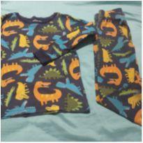 Pijama Carter`s dinossauros - 4 anos - Carter`s