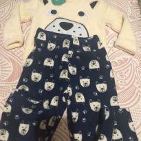 Pijama Fleece Infantil - 1 ano - Importado