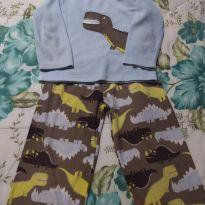 Pijama Fleece  Carter`s - 3 anos - Precious First by Carter`s