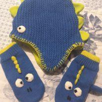 Kit Touca bebê dinossauros -  - Fashion Basics