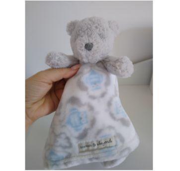 Ursinho naninha (importado  Blankets & Beyound) pouco usado. - Sem faixa etaria - Não informada e Marca não registrada