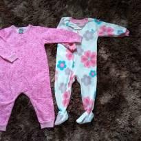 Pijamas quentinhos - 18 meses - Carter`s e Malwee