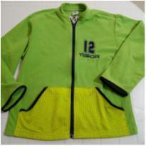 Blusa de frio em fleece  menino Tigor T. Tigre tam. 10 - usada - 10 anos - Tigor T.  Tigre