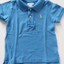 Camisa gola polo - 18meses - 18 meses - Ralph Lauren