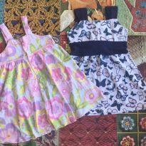 dois vestidinhos - 2 anos - Noruega e Noruega Baby