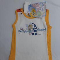 Camiseta regata nova - 3 a 6 meses - Outras