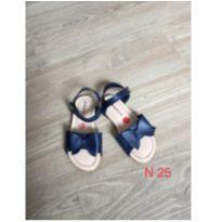 Sandália azul Nº25 - 25 - Riachuelo
