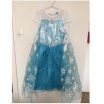 Vestido Fantasia Frozen - NUNCA USADO