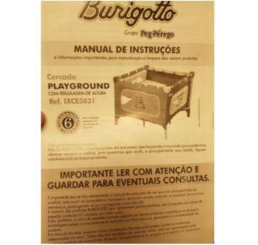 Cercado Playground Burigotto com bolinhas para a brincadeira ficar completa - Sem faixa etaria - Burigotto