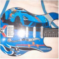 Guitarra Hot Wheels -  - Mattel