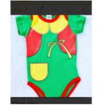 Body Chiquinha - 6 meses - Beijinho