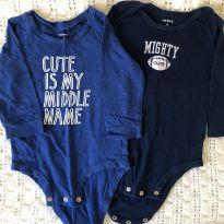 Dois bodies Carters - 6 meses - Carter`s