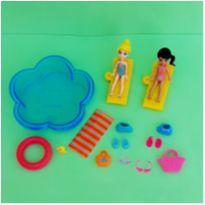 Bonecas Polly Pocket - Piscina -  - Mattel