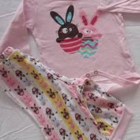 Pijama Puket coelhinhos - 3 meses - Puket
