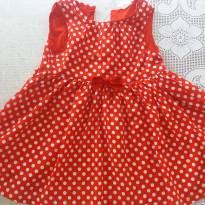 Vestidinho Minnie linfo. Importado. Novinho !! - 18 meses - H&M