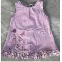 Vestido Borboletas Lilás M&Co - 3 a 6 meses - Sem marca
