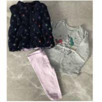 Conjunto com Colete 3 peçasHealthtex Baby - 3 a 6 meses - Healthtex