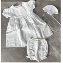 Vestido de Batizado NOVO com etiqueta! - 3 meses - Babysol