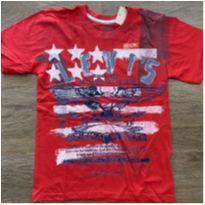 Camiseta vermelha Levi's - 10 anos - Levi`s