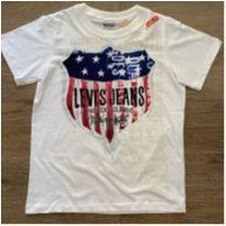 Camiseta Levi's original brasão - 10 anos - Levi`s