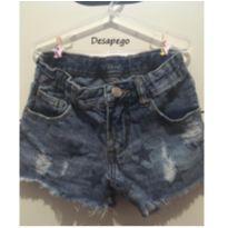 Short Jeans Estrela - 8 anos - Taco