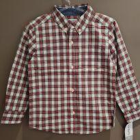 Camisa Social Carter`s  (Tamanho 5T) - 5 anos - Carter`s