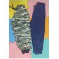 Kit 2 calças tamanho 4 - 4 anos - Sem marca