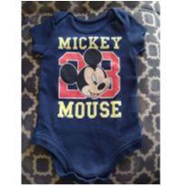 Body Mickey Mouse - 0 a 3 meses - Disney