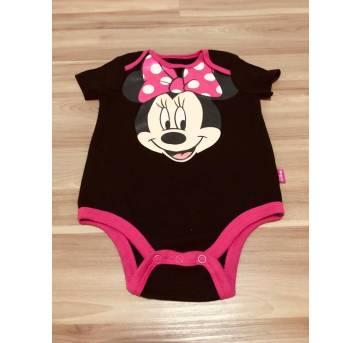 Body minie cintilante - 6 a 9 meses - Disney baby