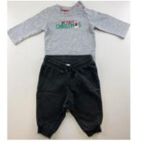 Conjunto My First Christmas - 0 a 3 meses - Gymboree e H&M, Carters e C&A