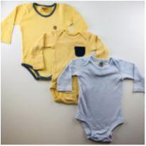Kit Body super confortáveis - 0 a 3 meses - Carter`s e Rolú