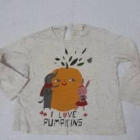 Camiseta mesclada pumpkins ZARA - 6 a 9 meses - Zara Baby