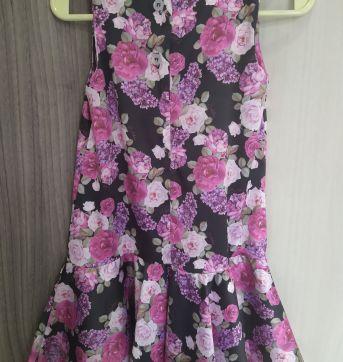 Vestido florido - 2 anos - Colibri