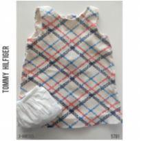 Vestido Tommy Hilfiger - 3 a 6 meses - Tommy Hilfiger