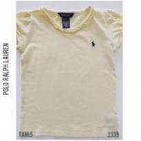 Camiseta infantil Polo Ralph Lauren - 5 anos - Ralph Lauren