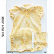 Macacão curto, romper Polo Ralph Lauren original - 6 meses - Ralph Lauren