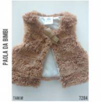Colete peluche Paola da Vinci - 6 a 9 meses - Paola BimBi