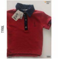 Camisa polo Tyrol, NOVA - 2 anos - Tyrol