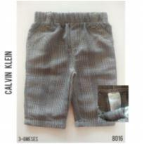 Calça em alfaiataria Calvin Klein - 3 a 6 meses - Calvin Klein