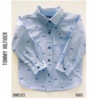Camisa social Tommy Hilfiger - 18 meses - Tommy Hilfiger