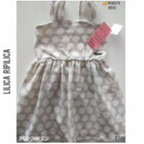 Vestido regata Lilica Ripilica, NOVO - 18 a 24 meses - Lilica Ripilica