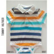 Body em piquet Tommy Hilfiger original