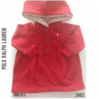Blusa em moletom Polo Ralph Lauren original - 6 meses - Ralph Lauren