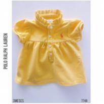 Blusa em piquet Polo Ralph Lauren, Original - 3 meses - Ralph Lauren