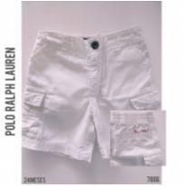 Bermuda em sarja Polo Ralph Lauren - 24 a 36 meses - Ralph Lauren