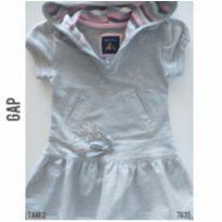Vestido em moletom GAP, Original - 2 anos - Baby Gap